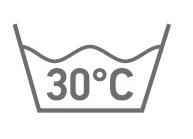 Обычная стирка при температуре воды до 30 °C